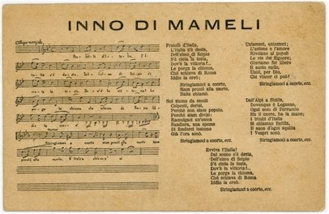 inno italia testo l inno di mameli il canto degli italiani ufficialmente