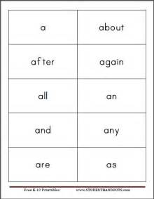 Flashcard Template Word by 8 Best Images Of Free Printable Sight Word Card Template