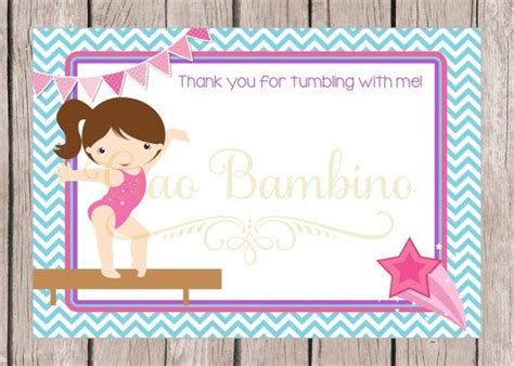 printable birthday cards gymnastics 44 best images about gymnastics party on pinterest