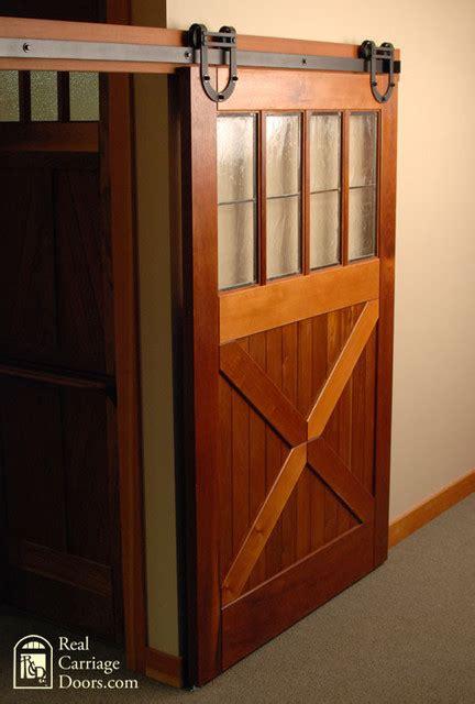 Real Barn Door Hardware Horseshoe Sliding Barn Door Hardware Craftsman Home Improvement Seattle By Real Sliding