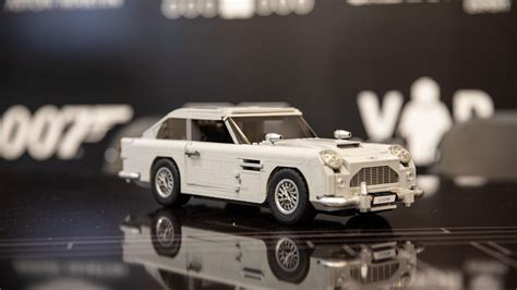 lego aston martin db5 lego bond aston martin db5 thrills with working