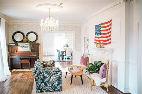 american flag living room 16 images of americana decor in the home