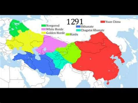 imperios otomano mongol y chino the mongol empire imperio mongol youtube