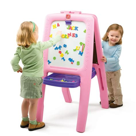 magnetic easel for toddlers easel for two kids art easel step2
