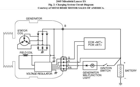 mitsubishi voltage regulator wiring diagram wiring