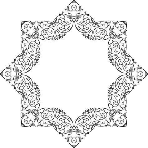 star border coloring page 94 star border coloring page coloring pages