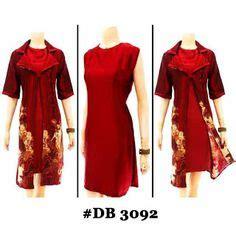 Blus Batik Kerah Jas 5 batik kerja wanita blus batik cantik lengan panjang