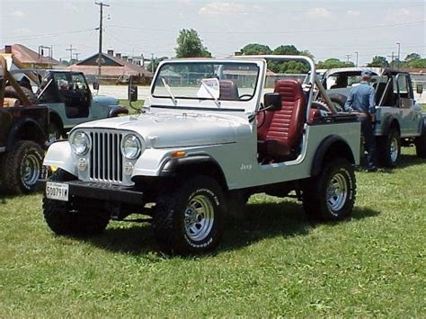 second car ever made the second car i owned jeep cj 7 worst steering on any