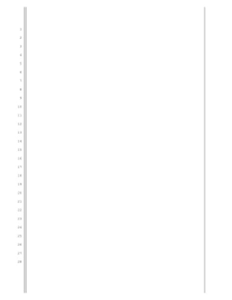 Printable Washington Legal Pleading Paper Legal Pleading Template Pleading Template
