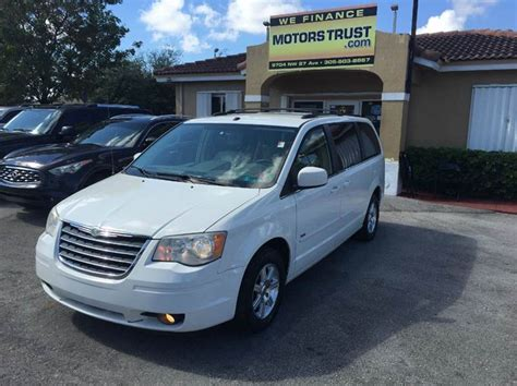 2008 Chrysler Town And Country For Sale by 2008 Chrysler Town And Country For Sale In Miami Fl
