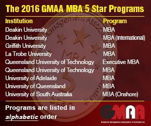 Deakin Mba Review by Australia S 5 Mbas Announced Mba News Australia