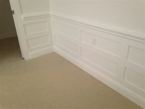 what is the height of the chair rail and wainscoting