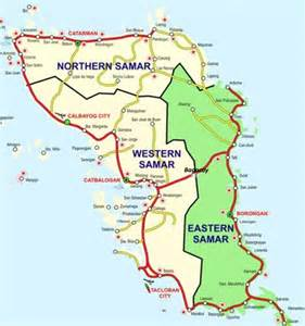 map of san jose northern samar western samar philippines pictures citiestips