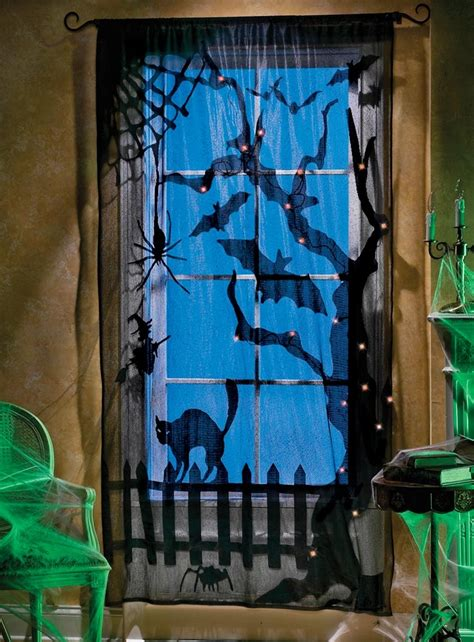 halloween window curtains my top 5 indoor halloween decorations ryan r palmer author