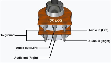 wiring a potentiometer volume wiring free engine