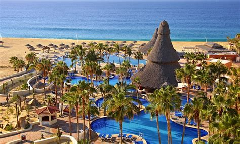 sandos finisterra stay with airfare from vacation express in cabo san lucas groupon getaways