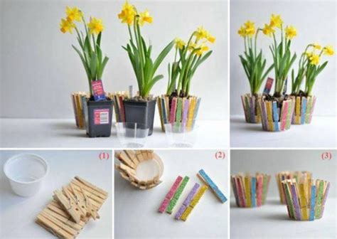 homemade flower pots 18 simple easy diy flower pot designs