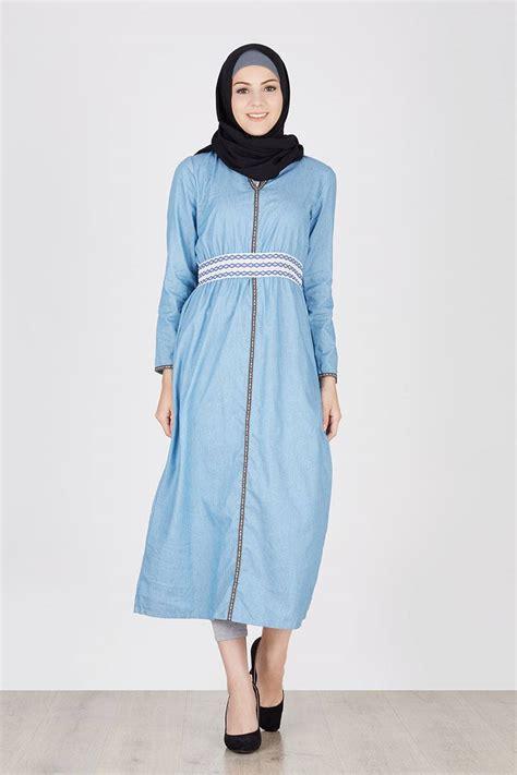 Desain Dress Remaja Terbaru | contoh dress untuk remaja model baju muslim modis untuk