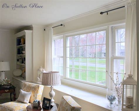 curtains for large picture window best 25 picture window treatments ideas on