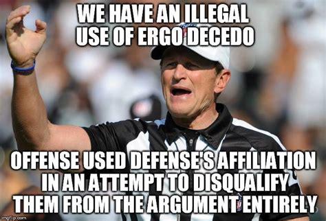 Ad Hominem Meme - logical fallacy ref internet arguments cool cute