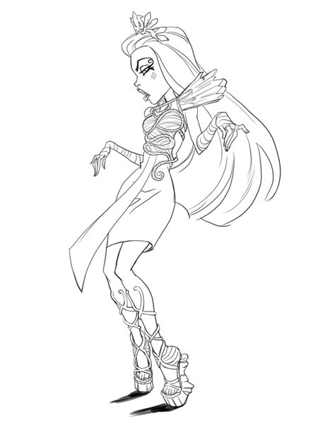 coloring pages monster high boo york plastic crew monster high boo york boo york artworks