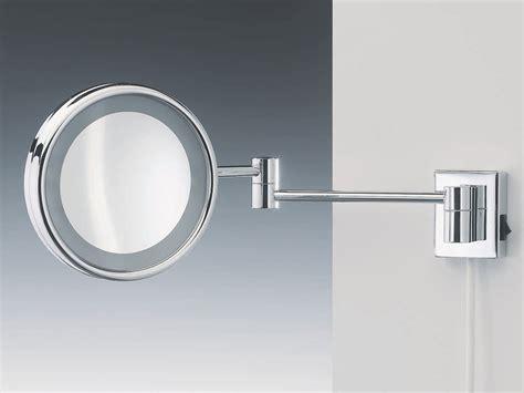 indogate glace salle de bain avec luminaire