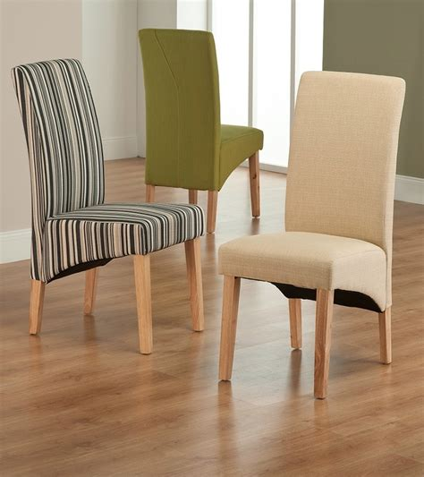 Green Fabric Dining Room Chairs Roma Green Fabric Dining Chair