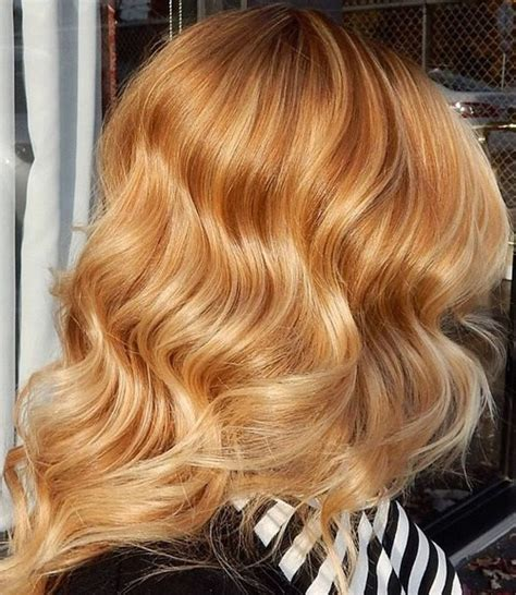 hairstyles of copper blonde hivhlights 50 variants of blonde hair color best highlights for