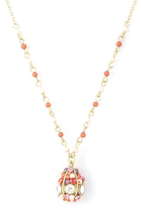 Beaded Pendant Necklace beaded pendant necklace necklaces