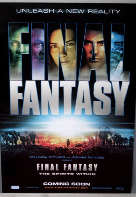 film final fantasy 1 final fantasy the spirits within 2001