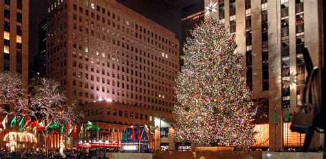rockefeller center christmas tree tree lighting ceremony