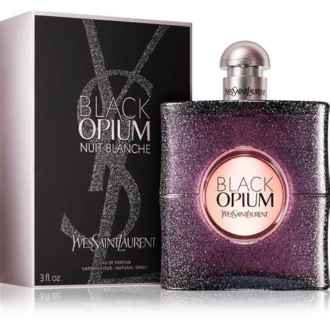 Yves Laurent Black Ysl Opium Nuit Blanche Parfum Original yves laurent black opium nuit blanche eau de parfum