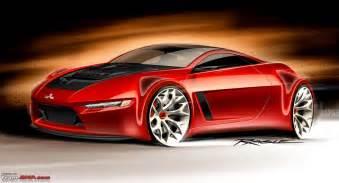 Mitsubishi Evo 11 Concept Mitsubishi Lancer Evo Xi To Be A Diesel Hybrid Team Bhp