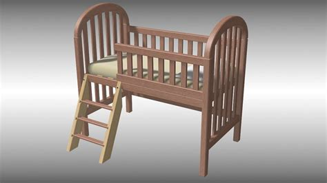 Crib Turns Into Bed How To Turn A Crib Into A Toddler Bed With Pictures Wikihow