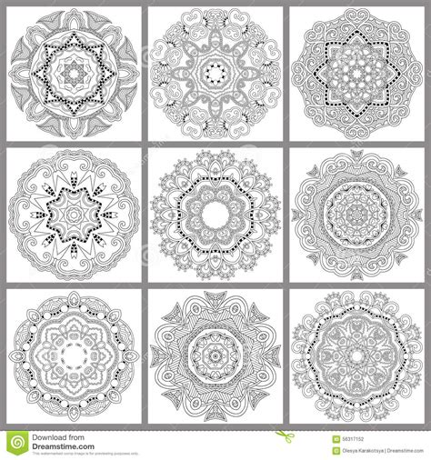 unique coloring pages for adults unique coloring book square page for adults stock vector