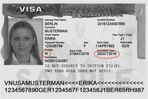 Visa Number Letter important immigration documents 183 interexchange