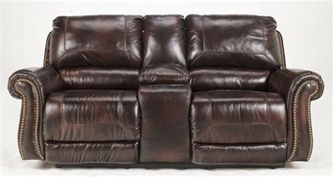 motorized reclining sofa reclining sofa reviews ashley quarterback reclining sofa
