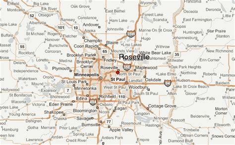 roseville minnesota location guide