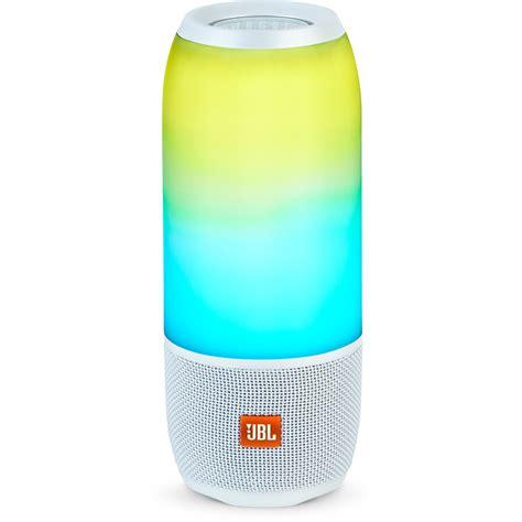 Speaker Bluetooth Jbl Pulse jbl pulse 3 portable bluetooth speaker white jblpulse3whtam