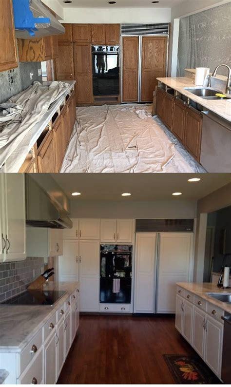 spraying kitchen cabinets hvlp spray painting kitchen cabinets refinishing kitchen cabinets