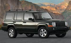 Chrysler Jeep Commander Car And Driver