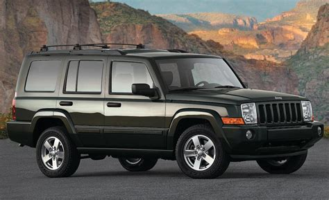 jeep commander car and driver