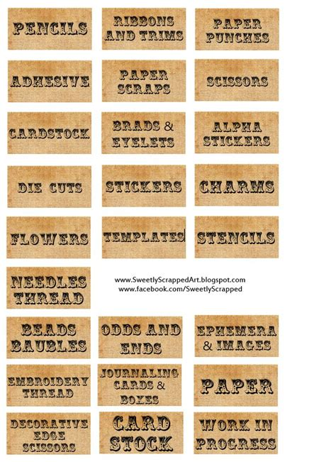 craft label templates 25 best ideas about organizing labels on file folder labels binder labels and