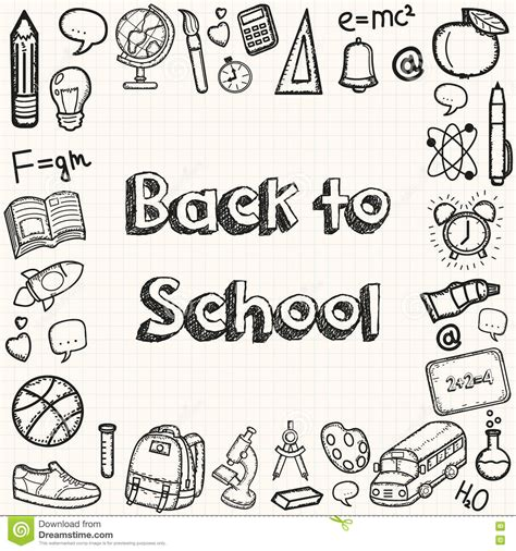 price plan concept free sketch freebie supply back to school hand drawn doodles background education