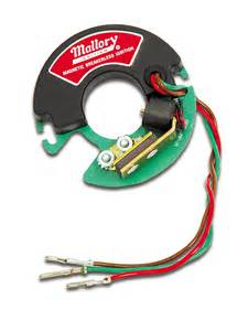 Mallory Ignition Parts Mallory 609 Magnetic Breakerless Ignition Module Ebay