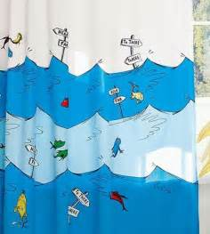 one fish two fish fish blue fish dr seuss shower