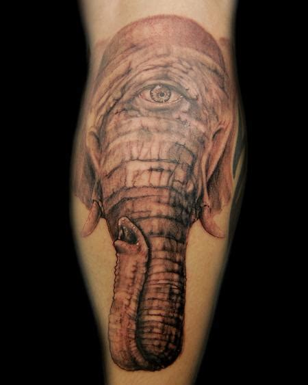 cyclops tattoo cyclops elephant by chris clark tattoos