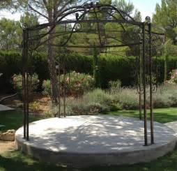 tonnelle de jardin en fer forg 233 ferronnerie buchwalter