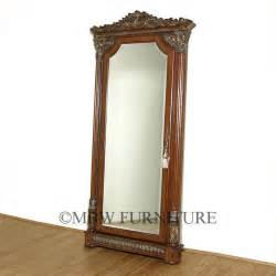 Mirror Front Jewelry Armoire by Chestnut Rococo Jewelry Armoire Mirror Ebay
