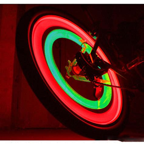 Lu Sepeda Raypal 5 Leds Light For Bicycle lu ban sepeda colorful led bicycle wheel light 1 pcs